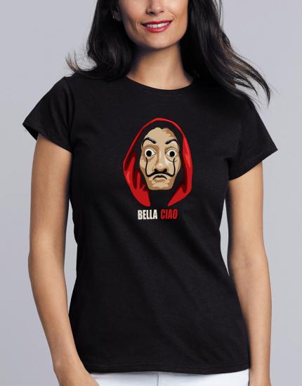 Μπλουζάκι με τύπωμα Bella Ciao