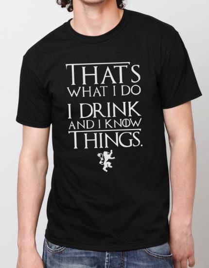 Μπλουζάκι με τύπωμα That is what i do