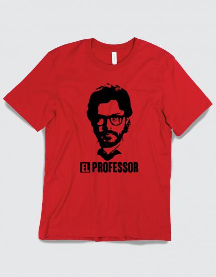 Μπλουζάκι με τύπωμα El Professor