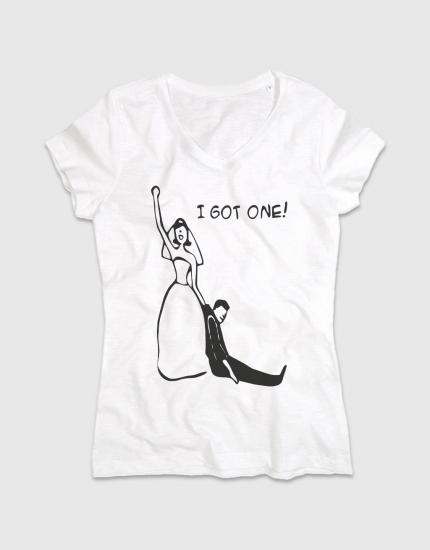 Μπλουζάκι με στάμπα I got one