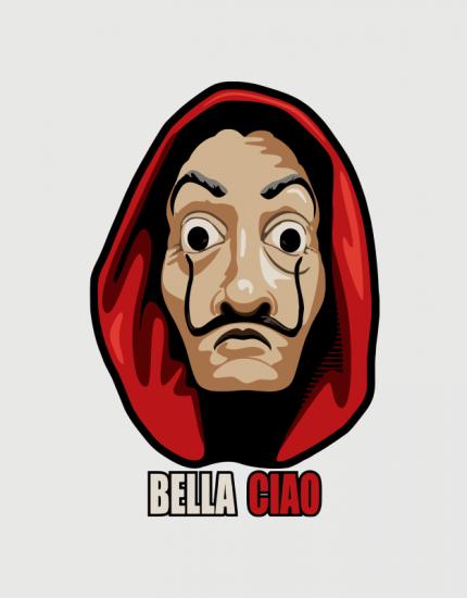 Κούπα κεραμική με τύπωμα Bella Ciao