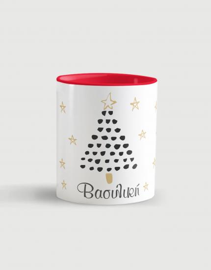 Κούπα κεραμική με τύπωμα Χριστουγεννιάτικο δεντράκι