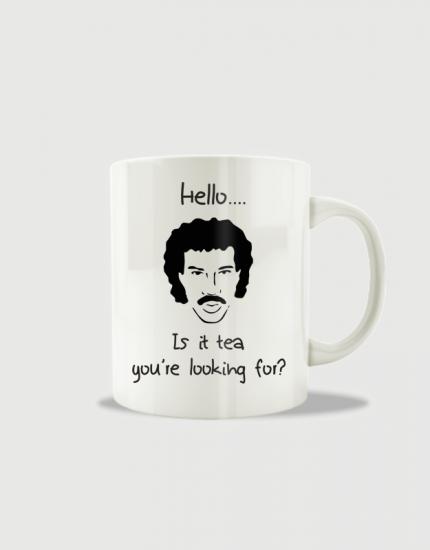 Κούπα κεραμική με στάμπα Hello...Is it tea you're looking for