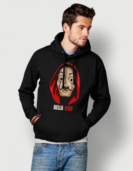 Hoodie με τύπωμα Bella Ciao