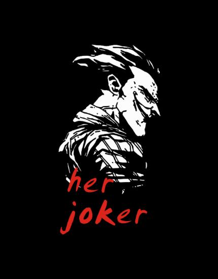 Μπλουζάκια με στάμπα Her Joker his Ηarley
