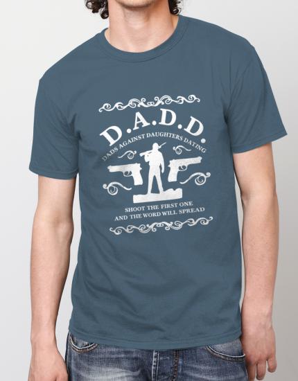 Μπλουζάκι με στάμπα Dads against daughters dating