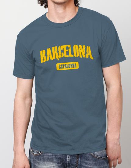 Μπλουζάκι με στάμπα Barcelona