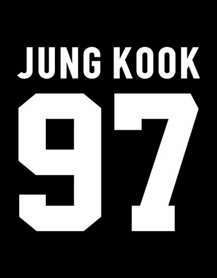 Κολλεγιακή ζακέτα με τύπωμα BTS - Jung Kook