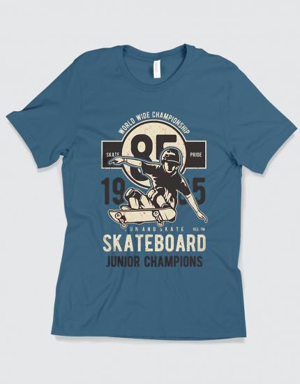 Μπλουζάκι με τύπωμα Skateboard Junior Champions