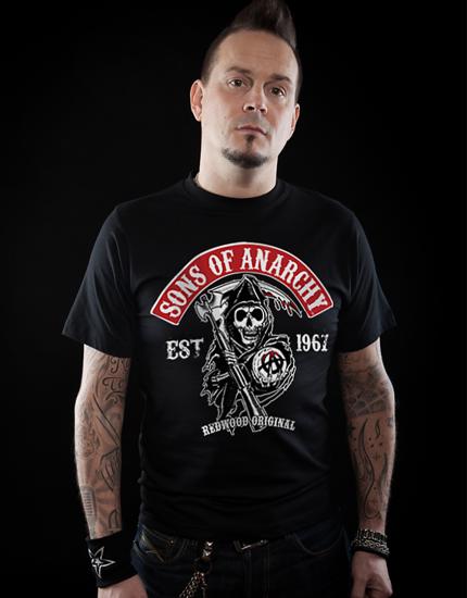 Μπλουζάκι με τύπωμα Sons of Anarchy
