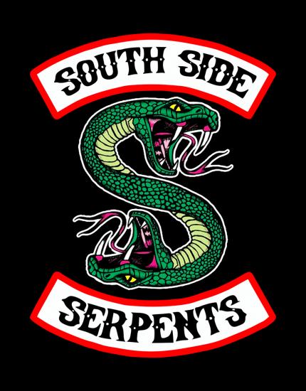Μπλουζάκι με τύπωμα South Side Serpents