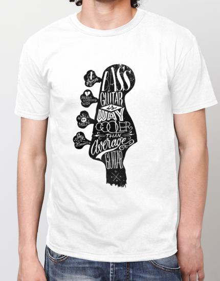 Μπλουζάκι με στάμπα Bass guitar