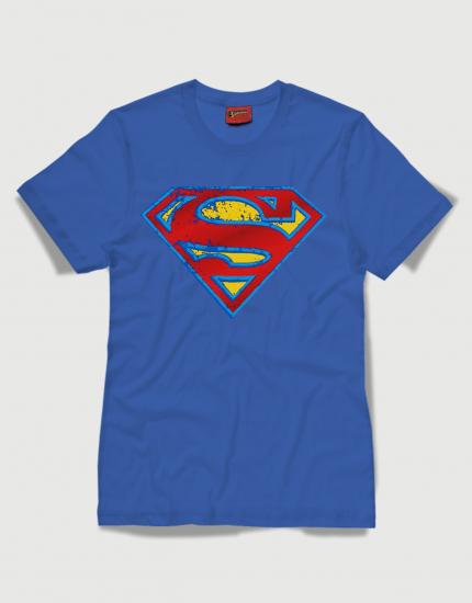 Superman distressed logo