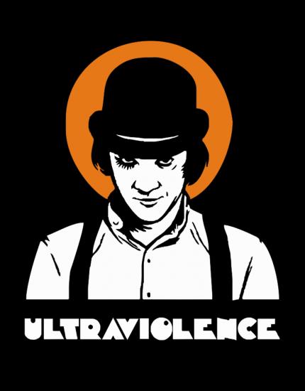 Μπλουζάκι με στάμπα Ultraviolence