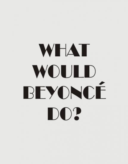 Κούπα κεραμική με στάμπα What would Beyonce do?
