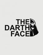 Μπλουζάκι με τύπωμα The darth face