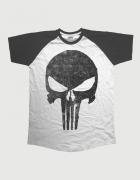 Μπλουζάκι με τύπωμα Punisher Jagged Skull Logo