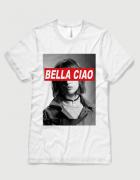 Μπλουζάκι με τύπωμα Bella Ciao Tokio