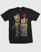 Μπλουζάκια με τύπωμα Don't push this button - Groot