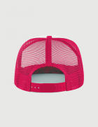Καπέλο φούξια Trucker Beechfield με στάμπα YOLO