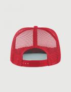 Καπέλο κόκκινο Trucker Beechfield με στάμπα Hawkins