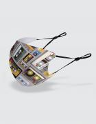 Μάσκα με εκτύπωση Cassette Tapes