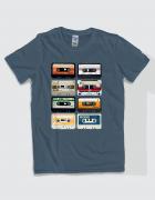 Μπλουζάκι με τύπωμα Cassette Tapes
