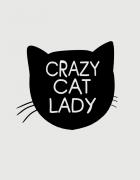 Κούπα κεραμική με τύπωμα Crazy Cat Lady