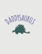 Παιδικό φορμάκι με στάμπα Daddysaurus