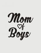 Μπλουζάκι με τύπωμα Mom of boys