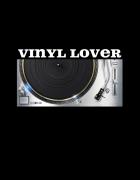 Μπλουζάκι με στάμπα Vinyl Lover