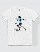 Μπλουζάκι με τύπωμα Dios Existe