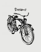 μαξιλάρι με στάμπα Dreams