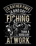 Μπλουζάκι με τύπωμα Fishing Life