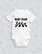 Παιδικό φορμάκι με στάμπα Baby Road