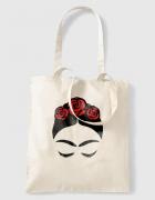 Υφασμάτινη τσάντα με στάμπα Frida