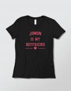 Μπλουζάκι με τύπωμα Jimin is my boyfriend