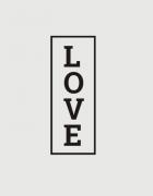 μαξιλάρι με στάμπα Love