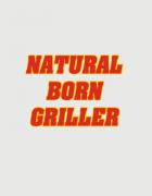 Ποδιά με στάμπα Natural Born Griller