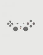 Κούπα κεραμική με στάμπα Playstation minimal
