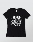 Μπλουζάκι με τύπωμα One for the road