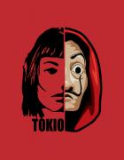 Μπλουζάκι με στάμπα Tokio