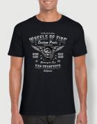 Μπλουζάκι με στάμπα Wheels of fire