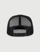 Καπέλο μαύρο Trucker Beechfield με στάμπα LA