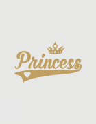 Μπλουζάκι με στάμπα Princess