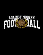 Μπλουζάκι με στάμπα Against Modern Football