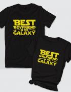 Μπλουζάκια με τύπωμα Best boyfriend - girlfriend in the galaxy