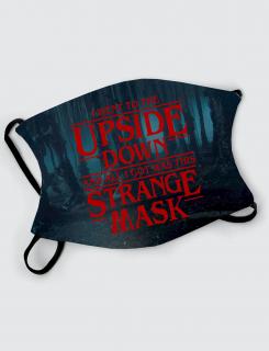 Μάσκα με εκτύπωση Strange Mask