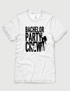 Μπλουζάκι με τύπωμα Bachelor Party Crew