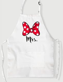 Ποδιά Μαγειρικής με τύπωμα Mrs.